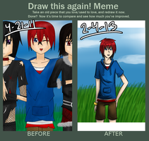 Meme - Before and After by Kannraa