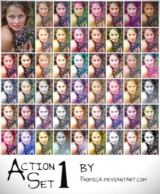 Action Set I by Phomica