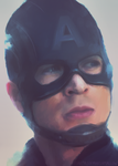 Captain America by fireproofmarshmallow
