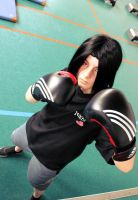 Uchiha Itachi boxing by SayuriCosplay