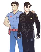 World's Finest Security Guards by Vimeddiee