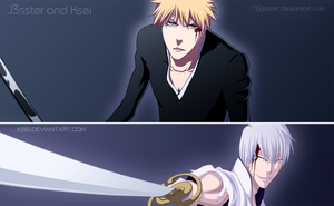 Ichigo VS Gin by 132Jester