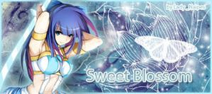 Sign Stocking~ sweet blossom by LadyNaipes