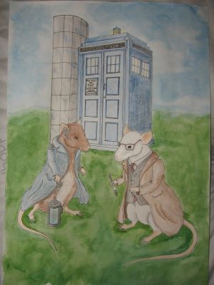 Doctor who + Torchwood Rats by Aswulf
