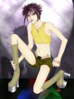 Bishounen Stripper by morichanheartsaya