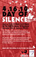 Day Of Silence flyer by JeffreyHamesGallery
