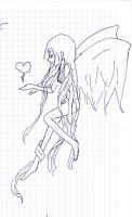an angel with a heart by NeasLon