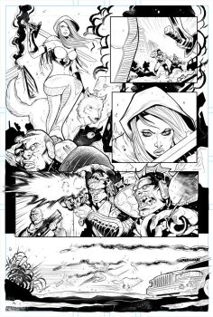 Zenescope's Realm War test page 01. by elnota