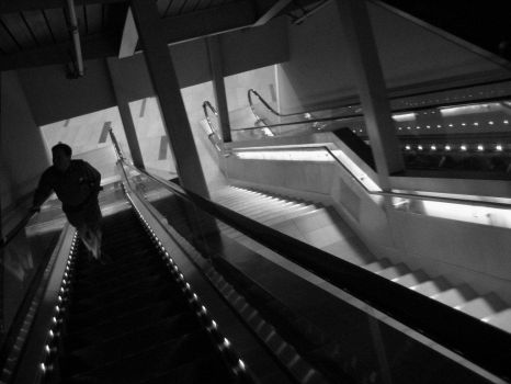 Lonely Escalator by WikipedianMarlith