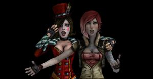 What is Lilith and Mad Moxxi looking at? by Cruzin1440