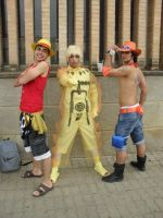 Naruto and One Piece by Naruto-Cosplay-Cadiz