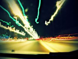 Blurred Analog Lights by omartheradwan