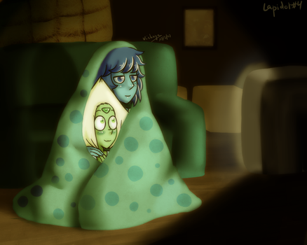 Lapidot Week 4 - Watching TV by Vishnya-Azraq