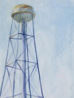 Channel Islands Water Tower by heartMelinda