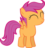Scootaloo Vector by PDPie