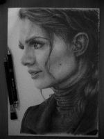 Kate Beckett by peacexofxart