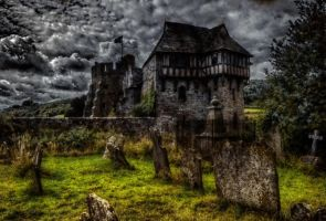 Stokesay castle by runwhat