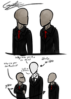 Slenderp Twins From Dream Sketch by GingaAkam