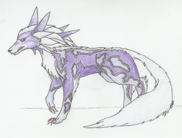 Fenrir - Coloured by FirionRoseII