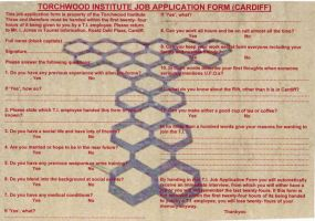 Torchwood Job Application Form by ramonatheta