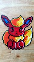 Mini Hama Flareon by ericgant