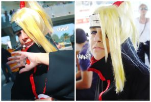 "A Deidara's ""UHN"" Tribute. by VincentChan"