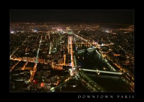 Downtown Paris by Rsebaf
