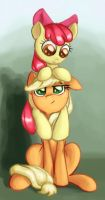 Sisterhood Apple-ication by ImpCJCaesar