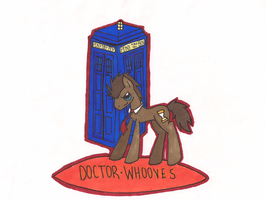Dr.Whooves by aynstainxpenelope
