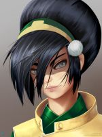 Toph by Silent-fly