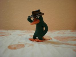 perry the platipus clay by DSenderM