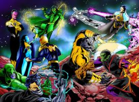 Annihilation vs the Corps by RCarter
