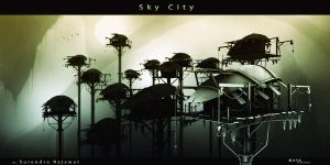 Sky City by surendrarajawat