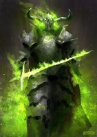 Green by conorburkeart