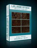 Exclusive Rock Texture Pack 01 by Lelanie-Stock