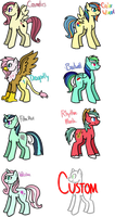 [CLOSED] - Shipping Ponies Batch 1 by Featheries
