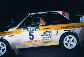 1985, Walter Roehrl, Audi, Rally Portugal, Tomar by F1PAM