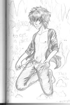 -Dirty Demigods- Nico by drk-sanctuary