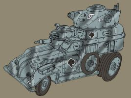 Armoured Car by spacegoblin