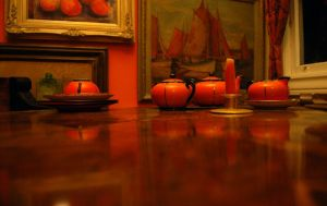 dining room table by stray-toaster