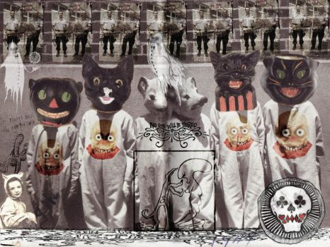 Halloween Death Pussy Clan by MorXn