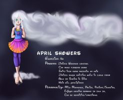 RotG OC April Showers by The1WolfDemon