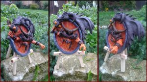 Ragnaros -  Hearthstone sculpture by AntonioBalicevic