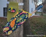 Cute little birds canvas quiver by Animus-Panthera
