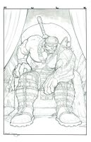 Hulk on his asswhupping throne by sunny615