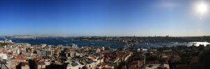 panaroma galata by frequencess