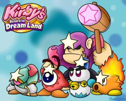 Kirby's Return to Dreamland: Super Enemies by SuperLakitu