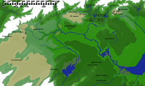 Chronological Map of Hyrule by djinn327