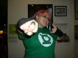 Halloween 2009 Green Lantern by BadMediCynInc22