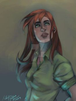 oC: painted Jess by NalaFontaine
